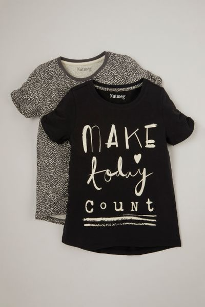 2 Pack Make Today Count T-Shirts