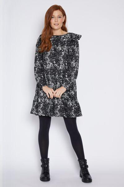 Wild Print Tea Dress