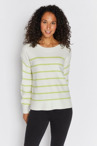 Stripe Lime Jumper