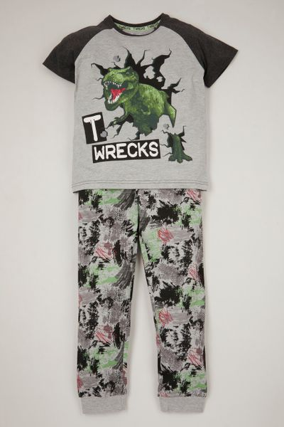 T-wrecks Print Pyjamas
