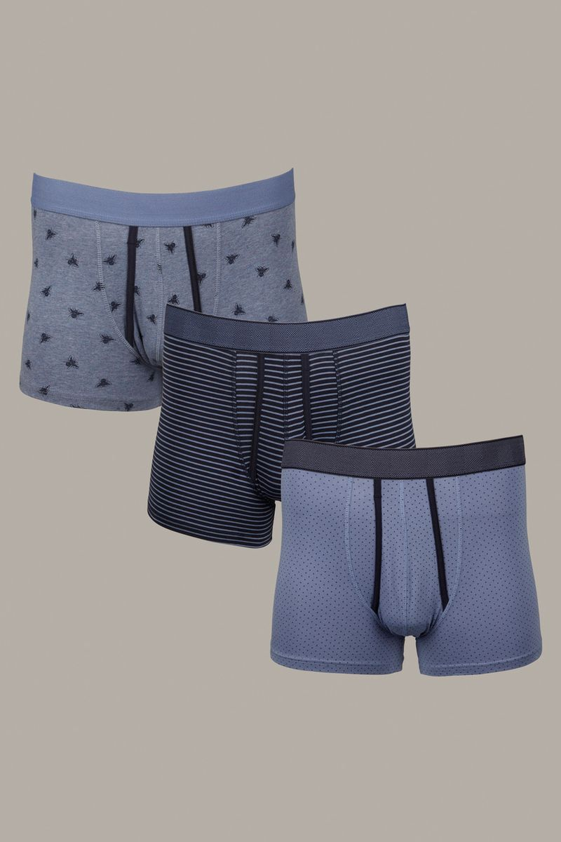 Denim Bee Trunks