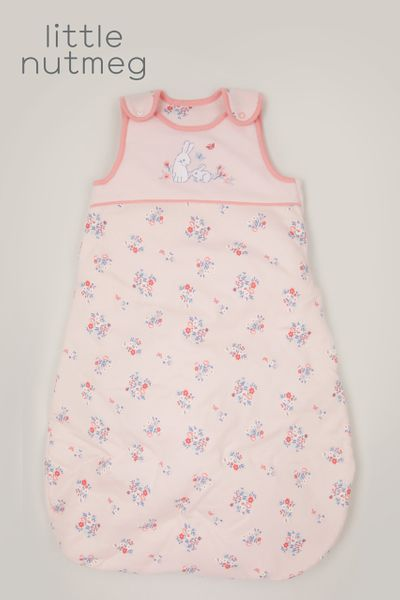 Little Nutmeg 2.5 Tog Pink Bunny Sleeping bag