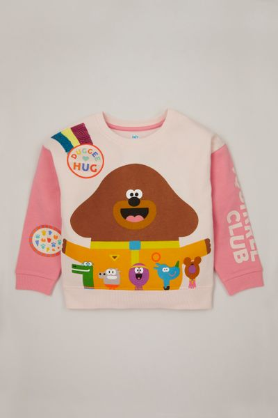 Hey Duggee Squirrel Club sweatshirt