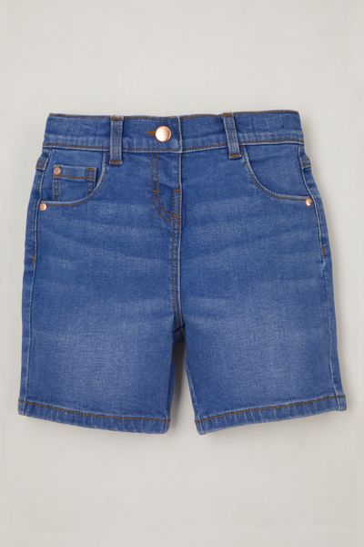 Bermuda Denim Shorts 1-6yrs