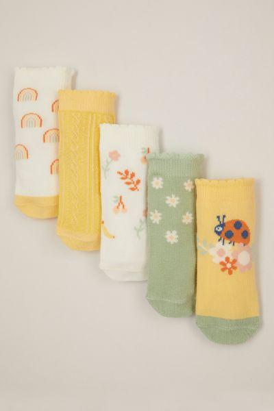 5 Pack Ladybird socks
