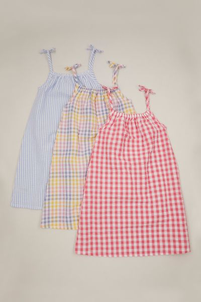 3 Pack Gingham dresses