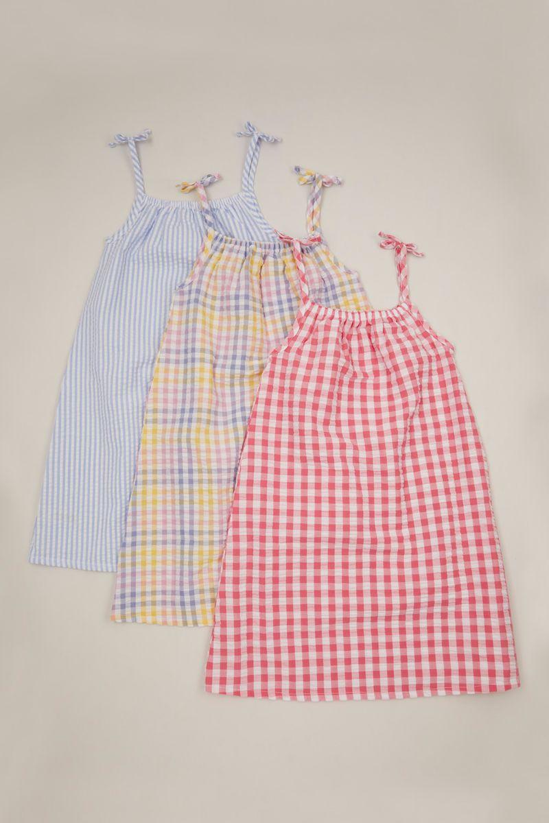3 Pack Gingham dresses