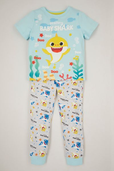 Baby Shark Unisex Pyjamas 1-6yrs