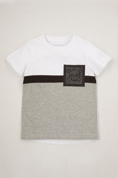 Skull Mesh Pocket T-shirt 1-10yrs