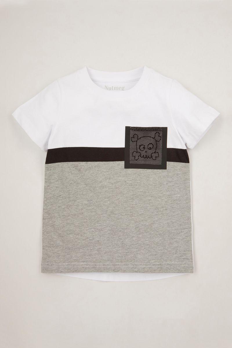 Skull Mesh Pocket T-shirt 1-10yrs