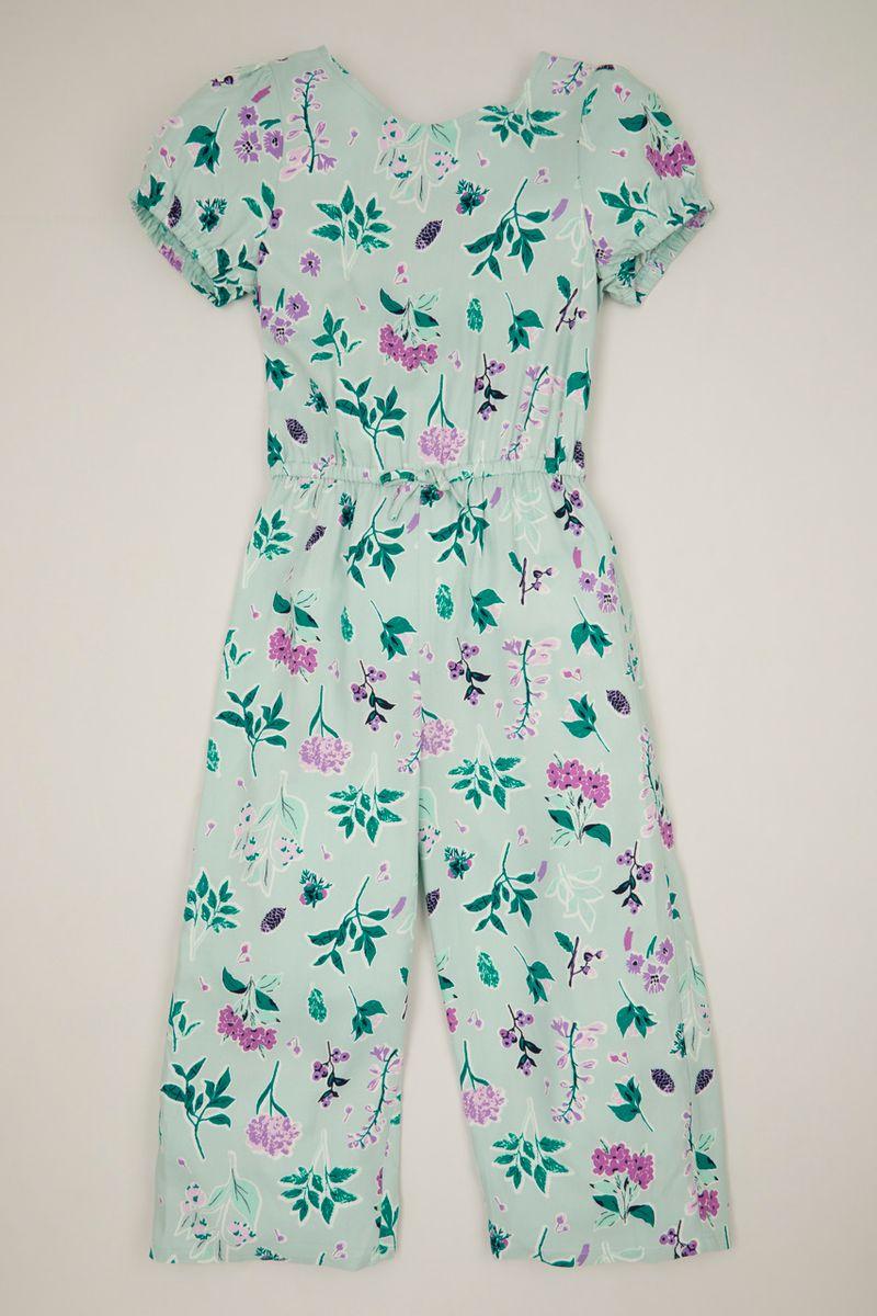 Flower Wrap jumpsuit
