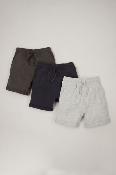 3 Pack Classic Colours Shorts 1-14 yrs