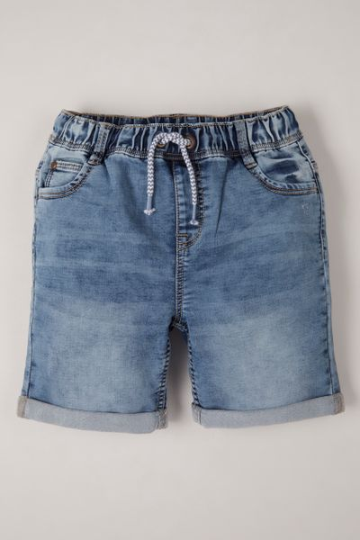 Denim Light Wash Shorts 1-14yrs