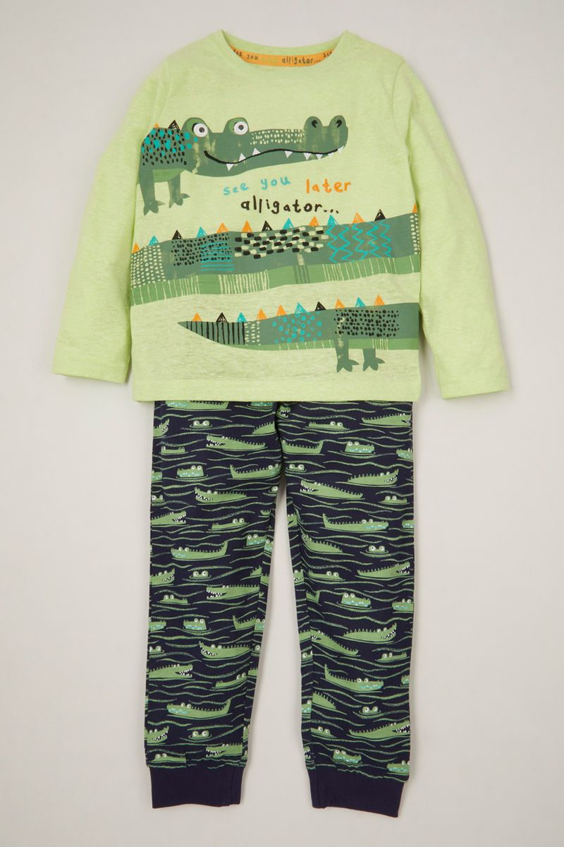 Alligator Pyjamas 1-6 yrs