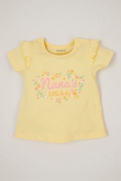 Yellow Nana's Little Lady T-shirt