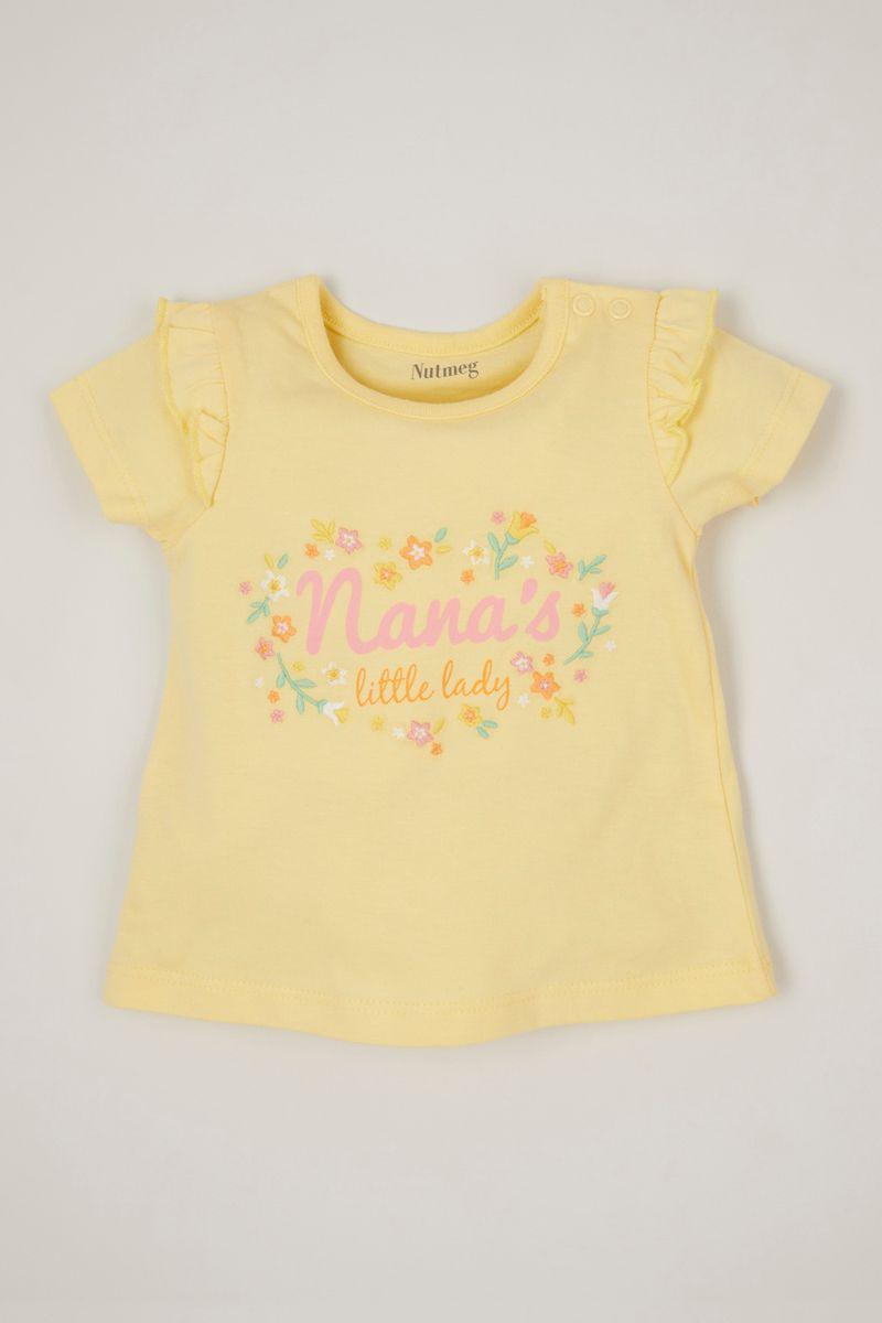 Yellow Nana's Little Lady T-shirt