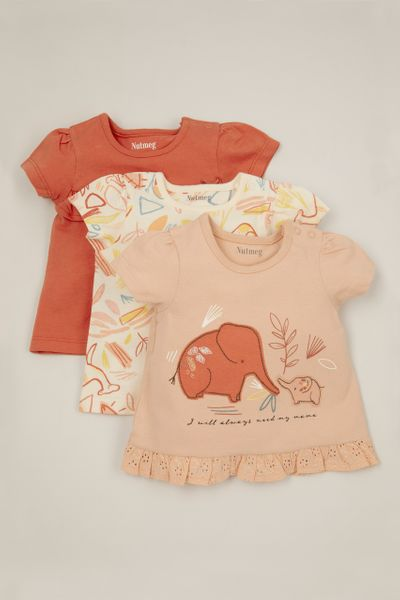 3 Pack Mama Elephant T-shirts