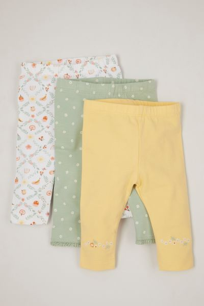 3 Pack Gardener Leggings