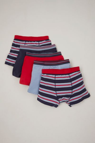 5 Pack Stripe Trunks