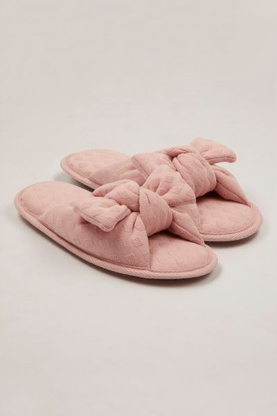 Pink Padded Slippers