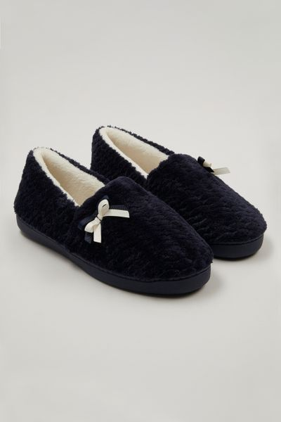 Navy Comfort Slippers