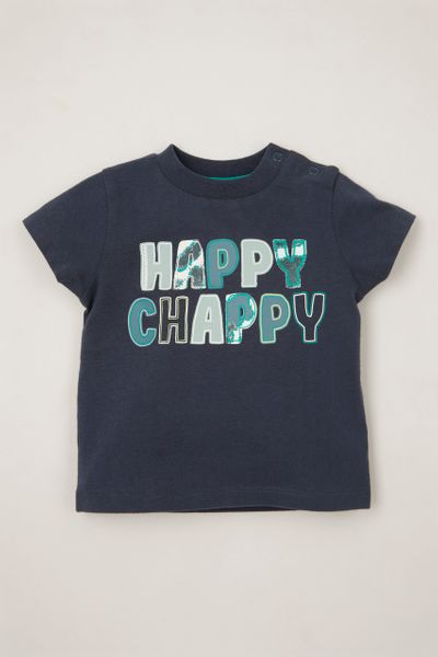 Happy Chappy Slogan T-shirt