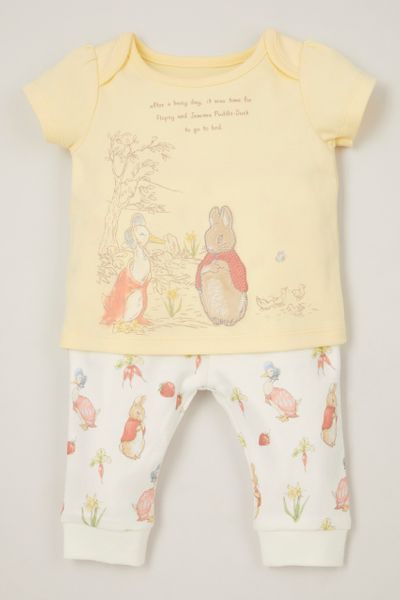 Peter Rabbit Yellow Pyjamas