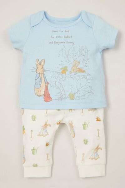 Peter Rabbit Blue Pyjamas