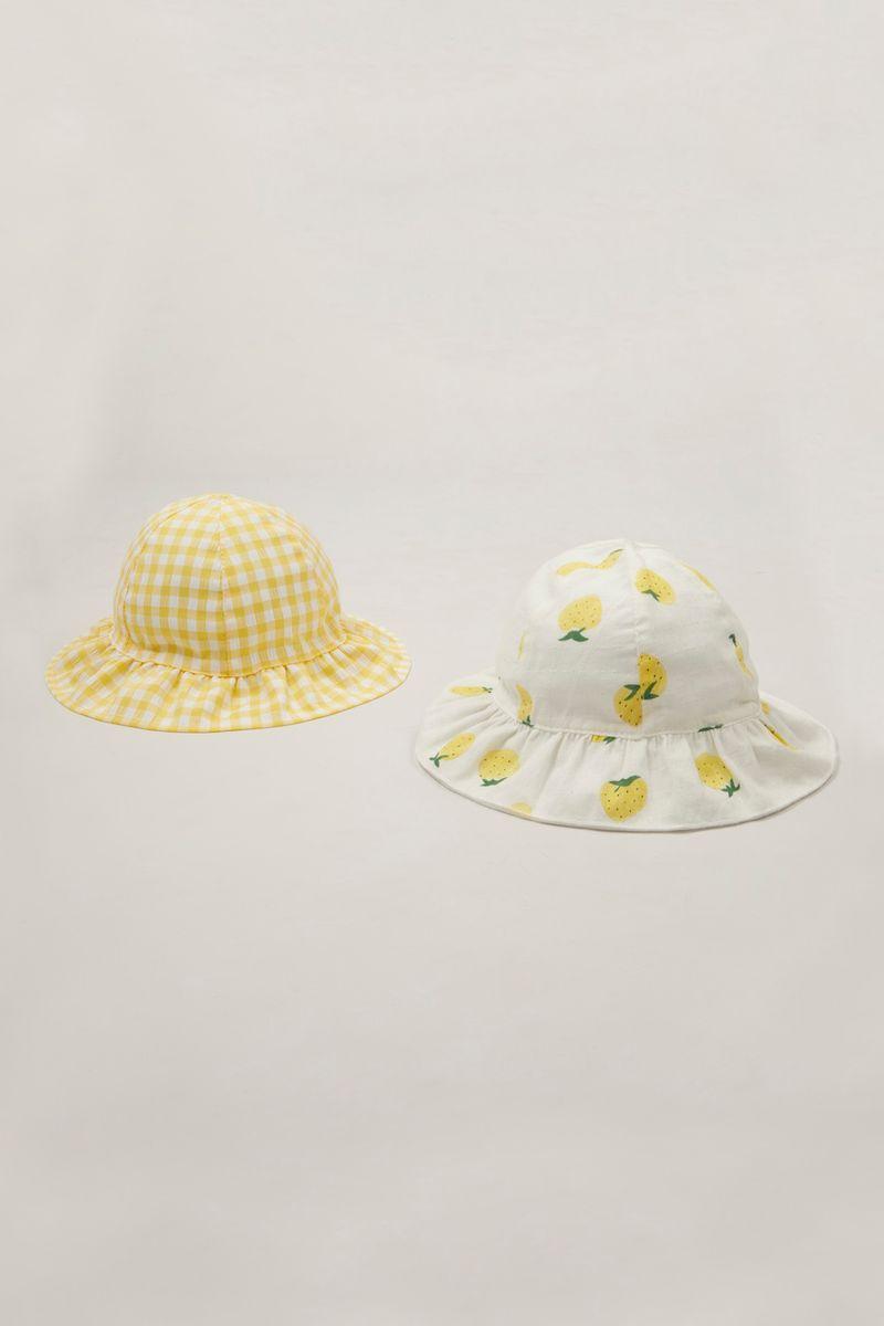 Online Exclusive 2 Pack Lemon hats