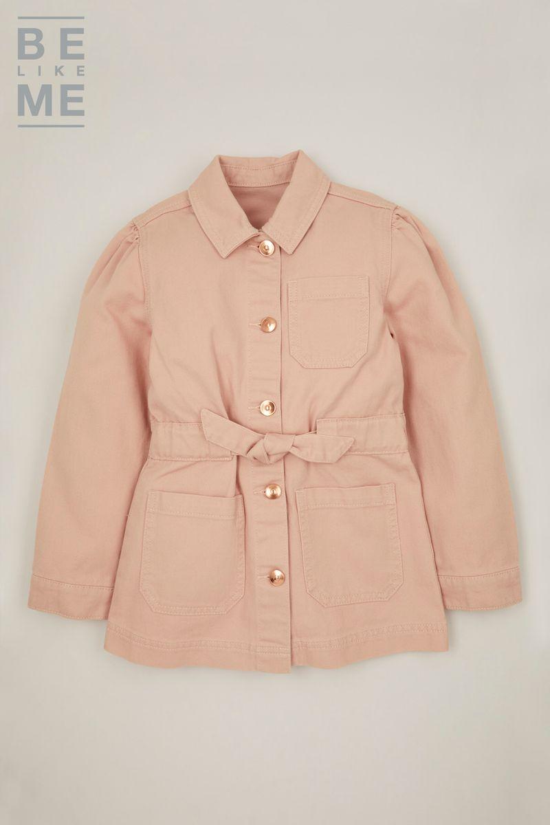 Be Like Me Pink Denim Shacket 3-14yrs
