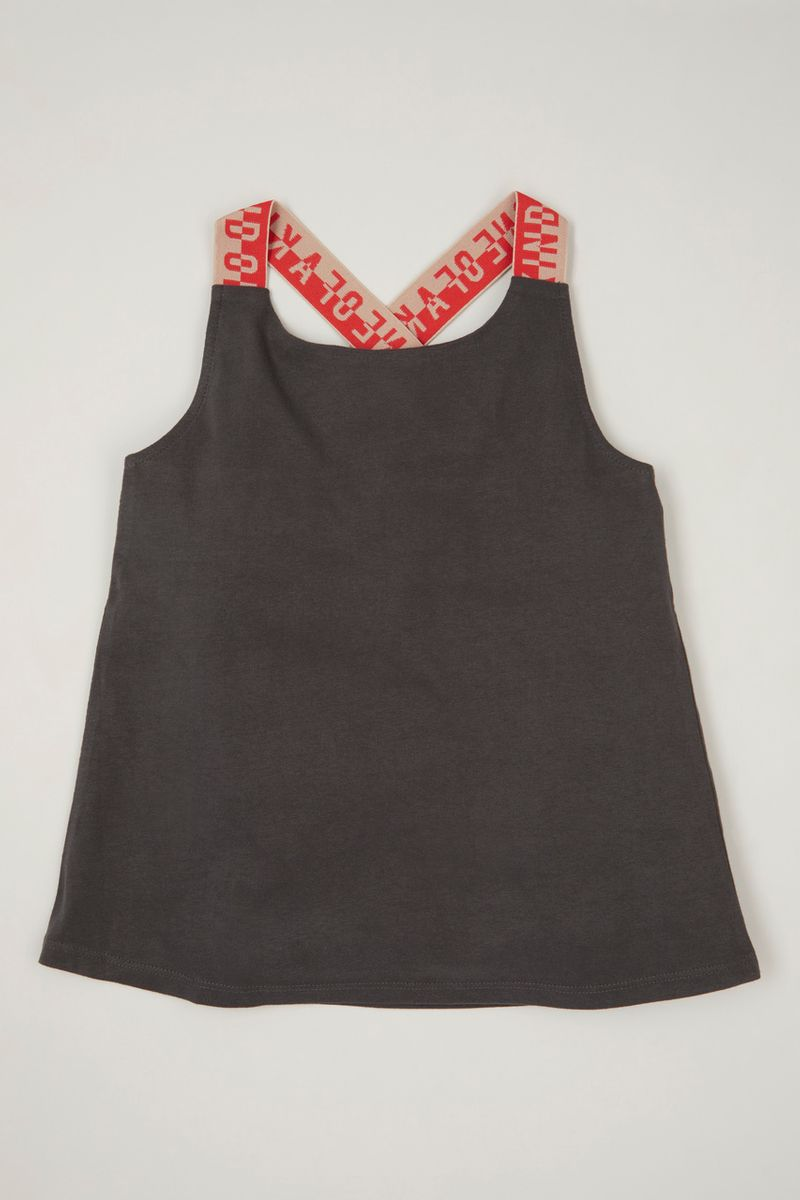 One of a Kind Cross Over Vest top