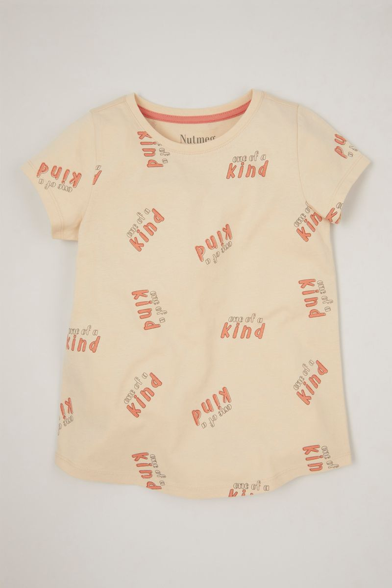 One of a Kind Print T-shirt
