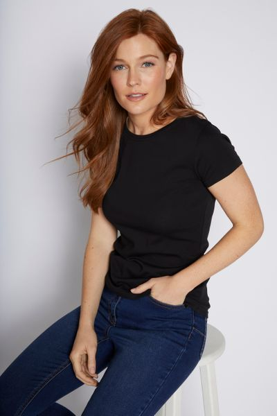 Fitted Black T-shirt