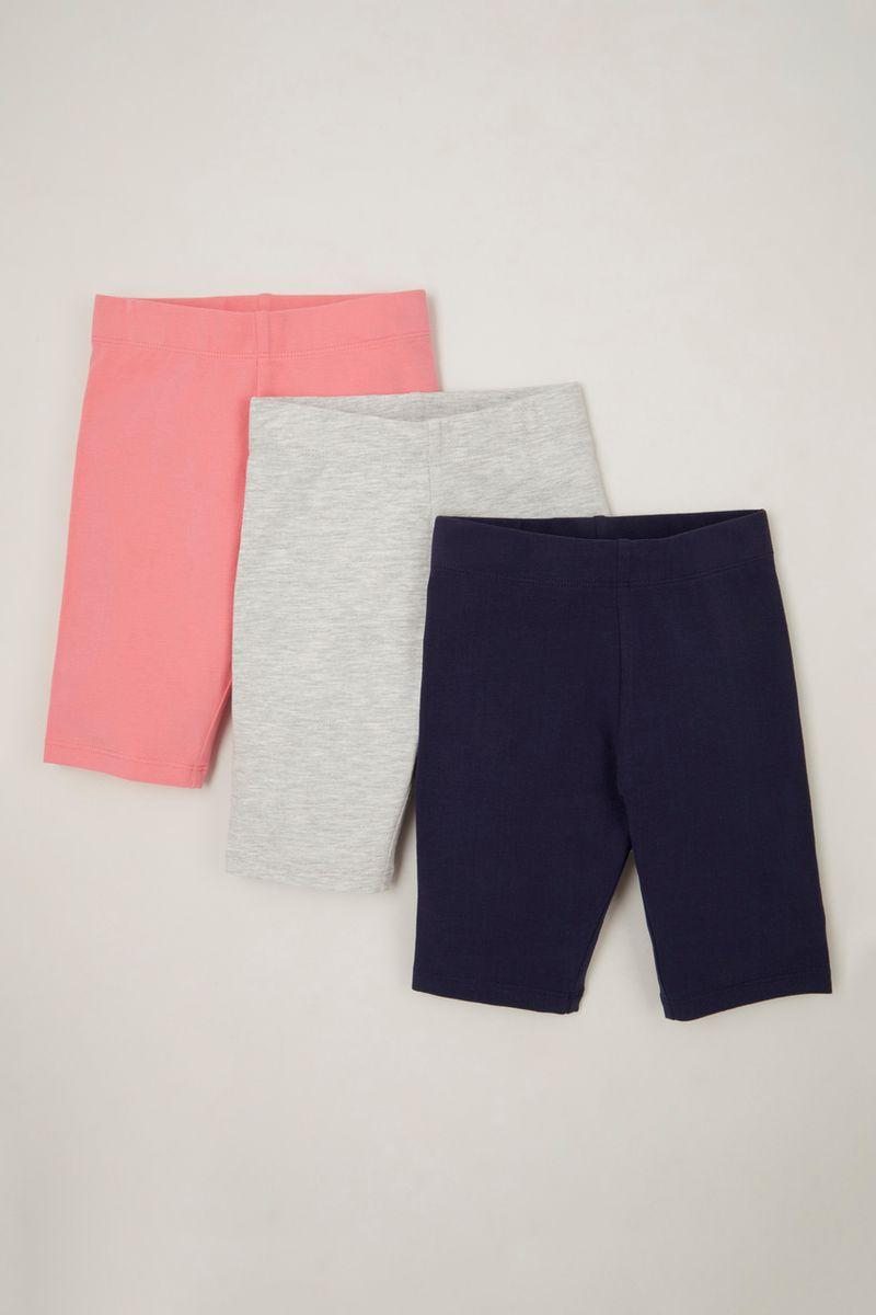 3 Pack Pink Cycling shorts