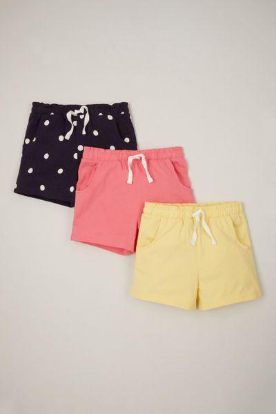 3 Pack Spot Jersey Shorts