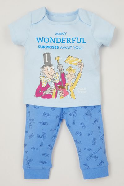 Roald Dahl Charlie & The Chocolate Factory pyjamas
