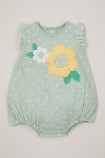 Daisy Applique Romper