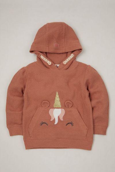 Unicorn Ribbed hoodie