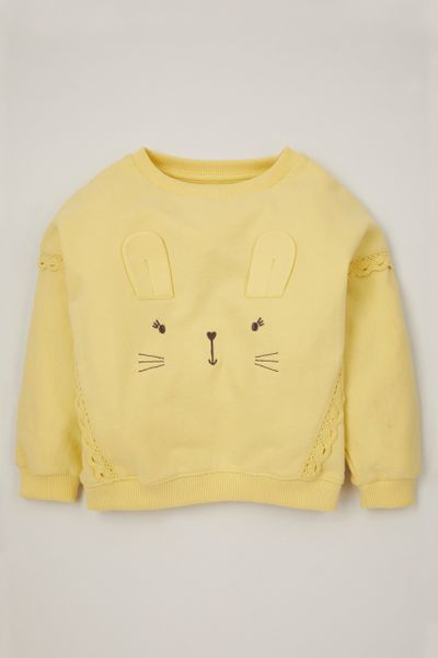 Yellow Rabbit Sweatshirt