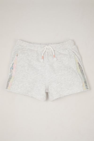 Reversible Sequin Sweat shorts