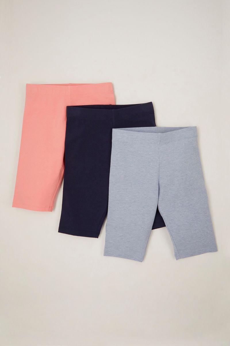 3 Pack Cycle shorts 3-14yrs