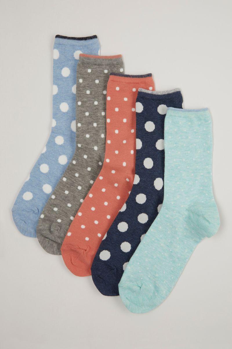 5 Pack Spot Socks