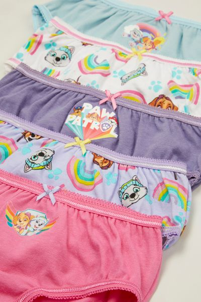 5 Pack Rainbow Paw Patrol Briefs