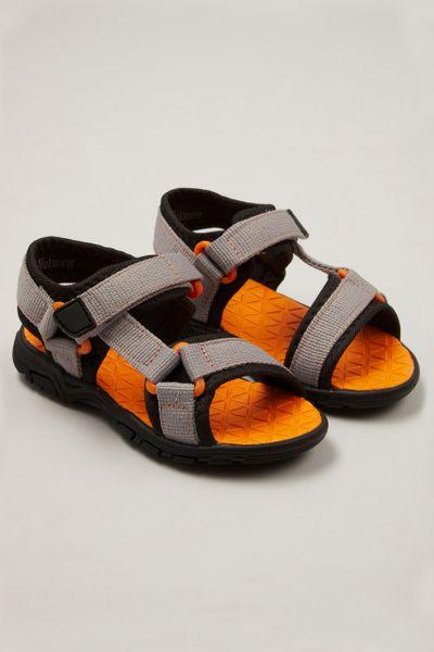 Orange Sole Sandals