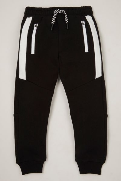 Monochrome Panel Joggers 1-10yrs