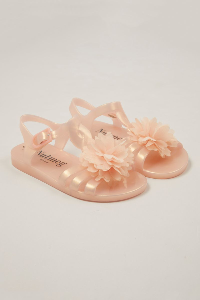 Jelly Corsage Sandals