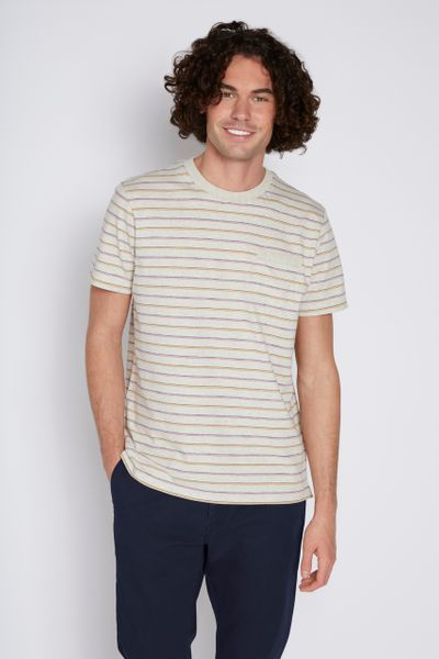 Oatmeal Stripe T-Shirt