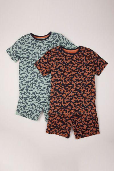 2 Pack Camo Pyjamas
