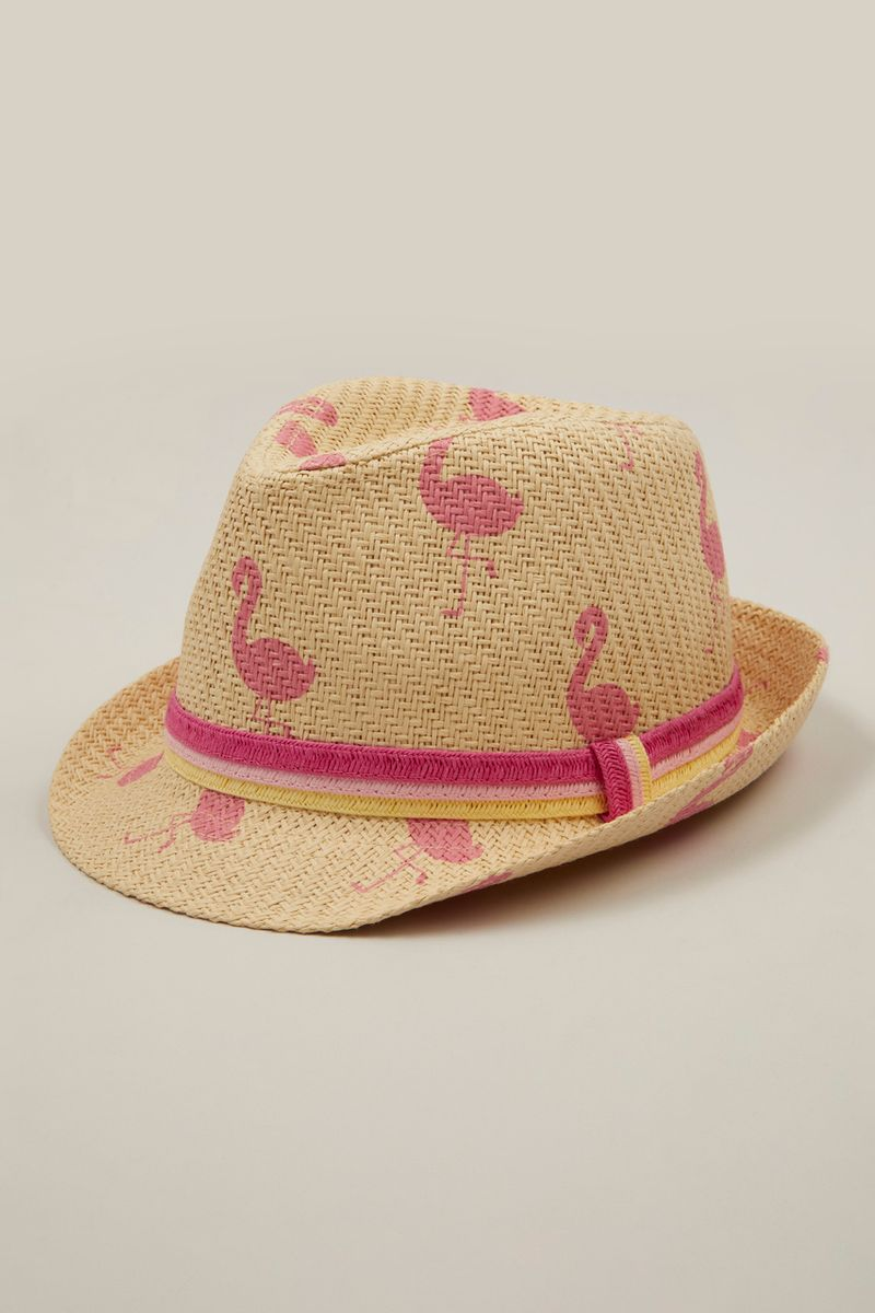 Flamingo Trilby Hat