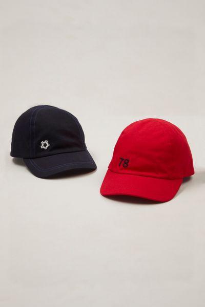 2 Pack Football Cap